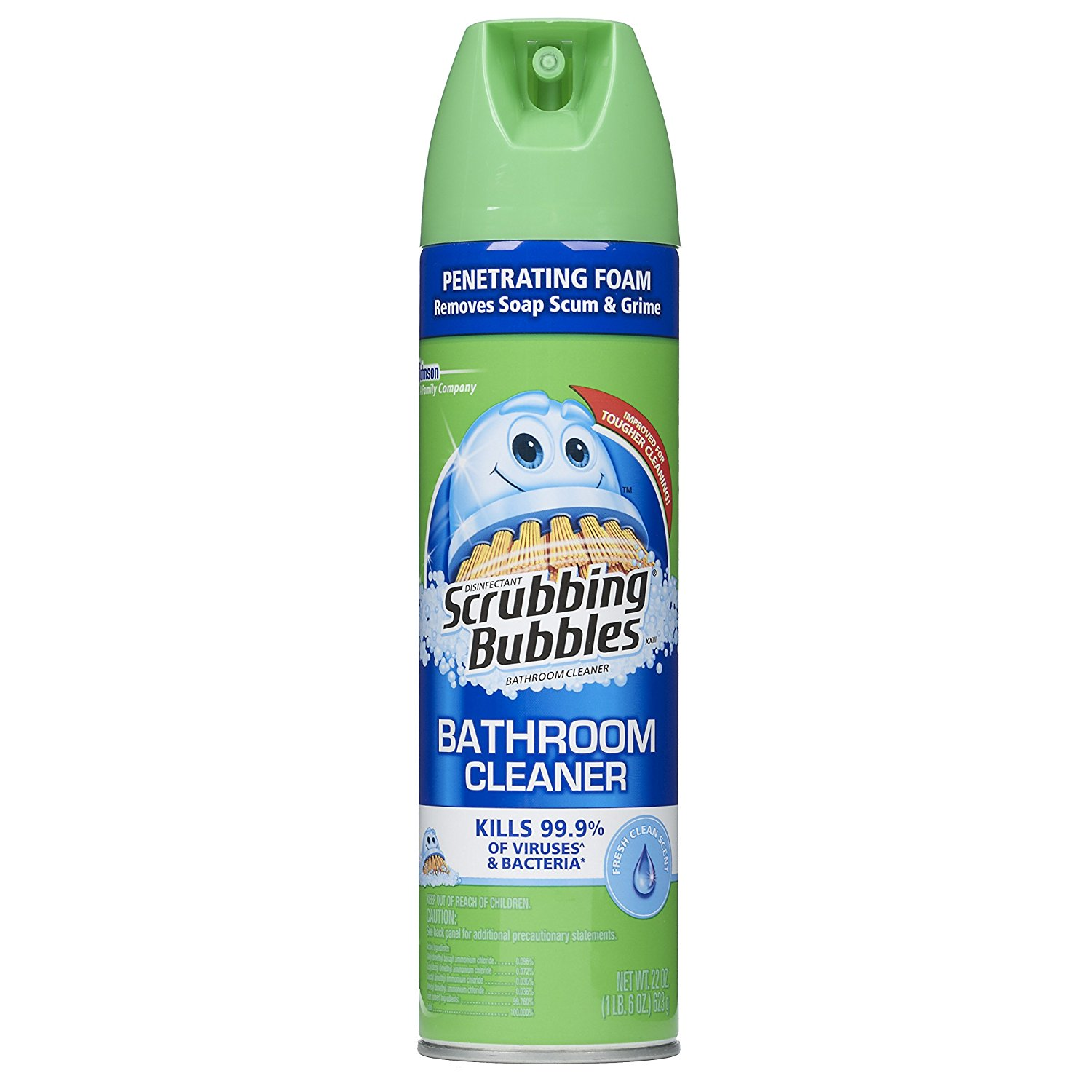Scrubbing Bubbles Disinfectant Bathroom Cleaner