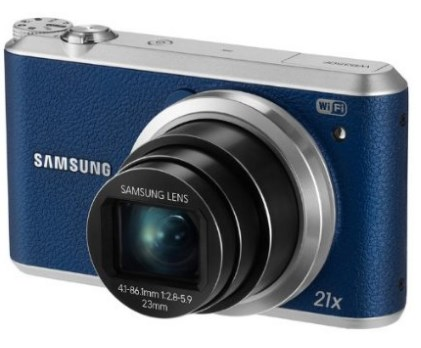 Samsung WB350F Digital Camera with 16.3 MP and 21X Optical Zoom