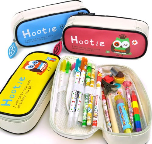 Cool Pencil Case Hootie the Owl Pencil Case - Available in Variety of Colors