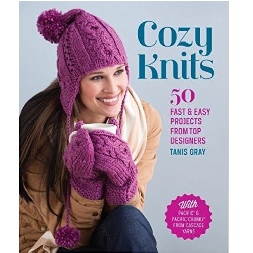 Tanis Gray Cozy Knits Knitting Pattern Book