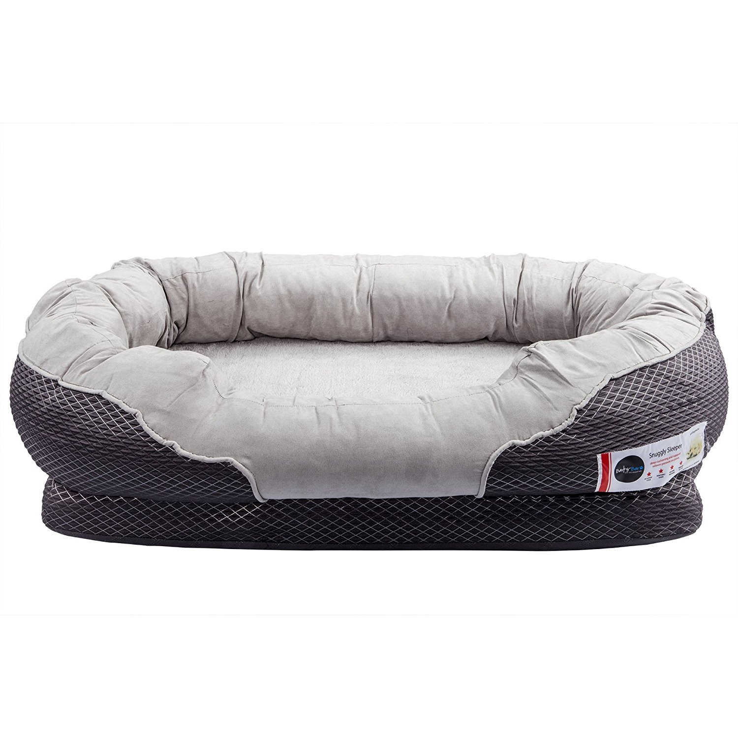 Barksbar Snuggly Sleeper Orthopedic Dog Bed