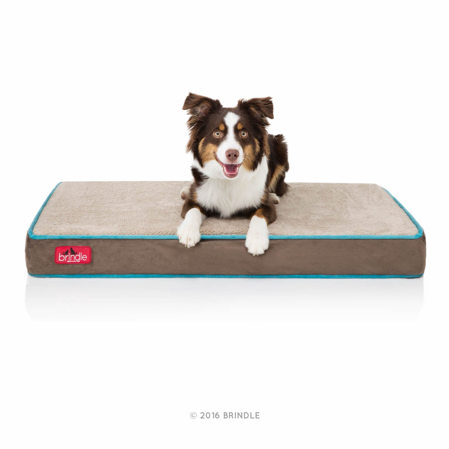 Brindle Memory Foam Pet Bed