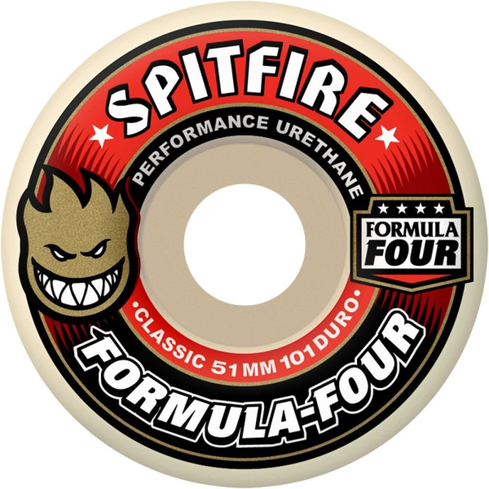 Spitfire Formula 4 Radial Shape Skateboard Wheels
