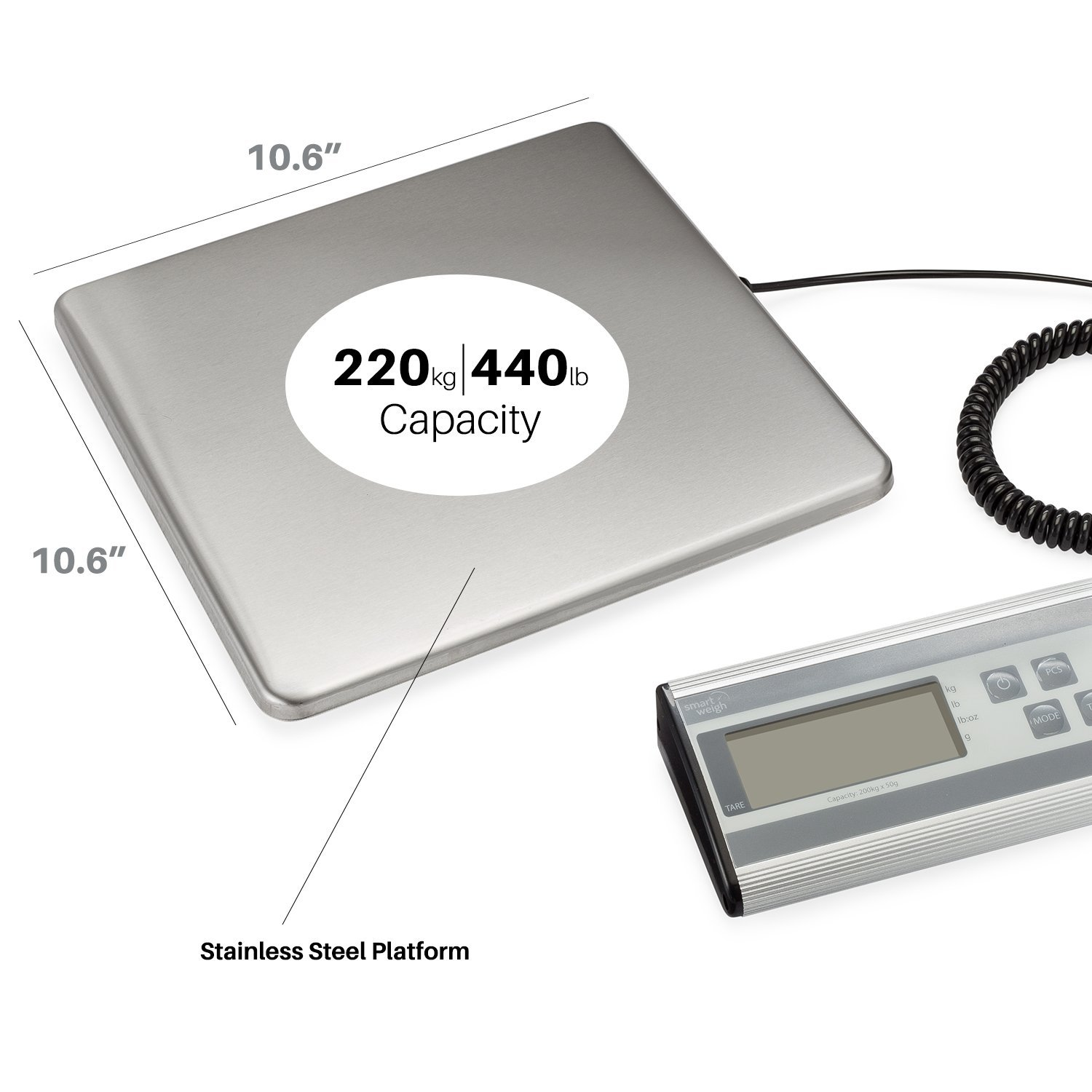 Smart Weigh Heavy Duty Postal Scale