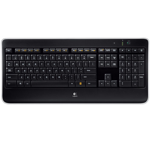 Logitech K800 Wireless Backlight Keyboard for Desktop Computer