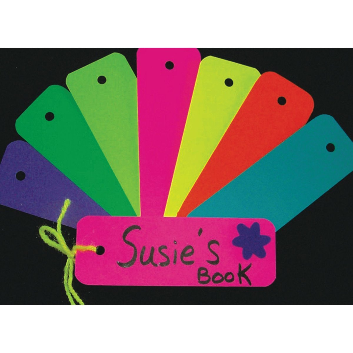 Hygloss Bright Blank Bookmarks