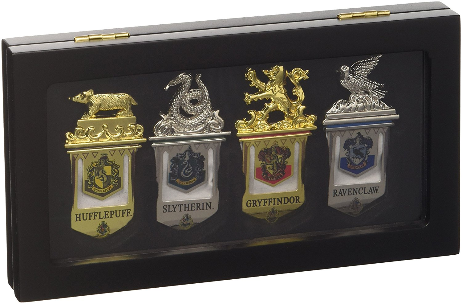 The Noble Collection Hogwarts Bookmark Set