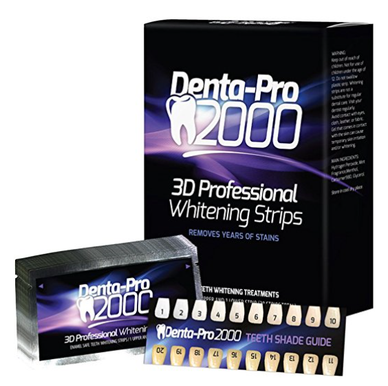 DentaPro2000 Professional Teeth Whitening Strips