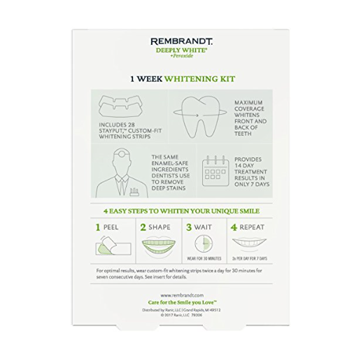 Rembrandt 1 Week Teeth Whitening Kit