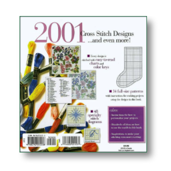 Better Homes and Gardens 2001 Cross Stitch Designs
