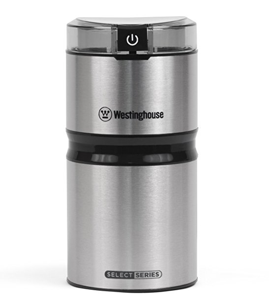 Westinghouse Select Series Stainless Steel Electric Coffee and Spice Grinder - Amazon Exclusive Version