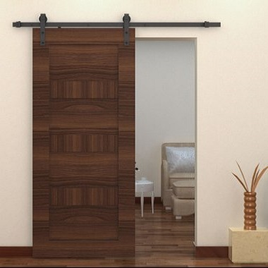 HomCom Interior Sliding Barn Door Kit