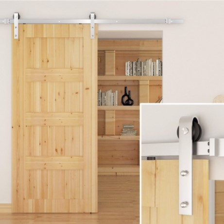 SMARTSTANDARD Sliding Barn Door Kit