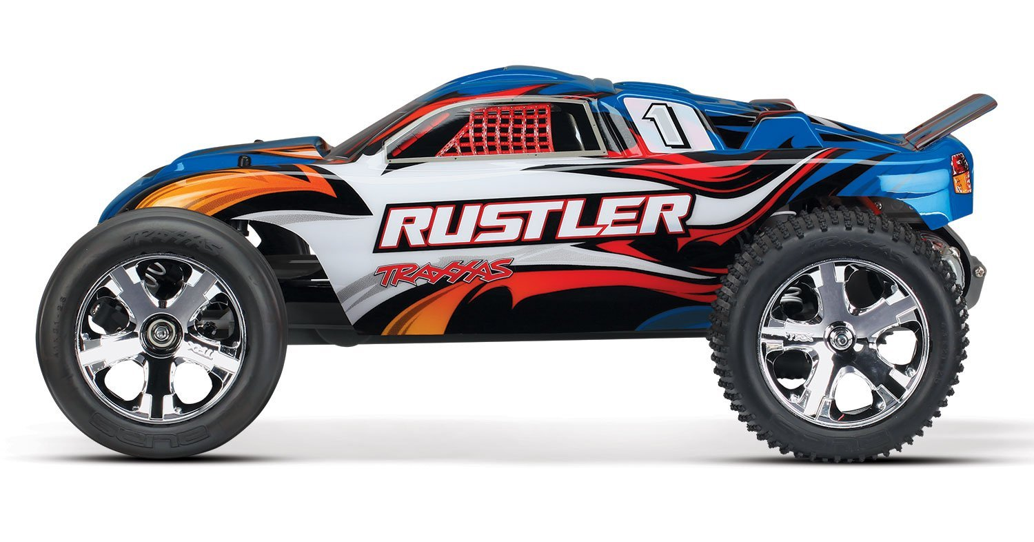 Traxxas Rustler RTR with XL-5 ESC Vehicle – Available In 5 Colors