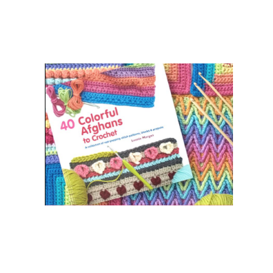 Leonie Morgan 40 Colorful Afghans to Crochet