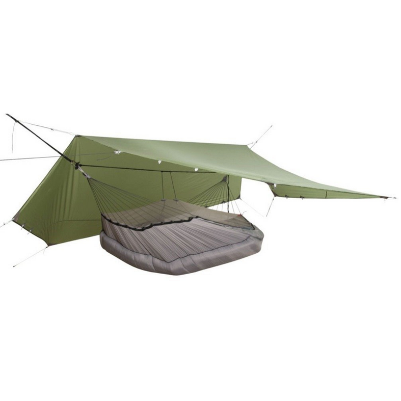 Exped Ergo Hammock Combi with Protective Overhang Shelter