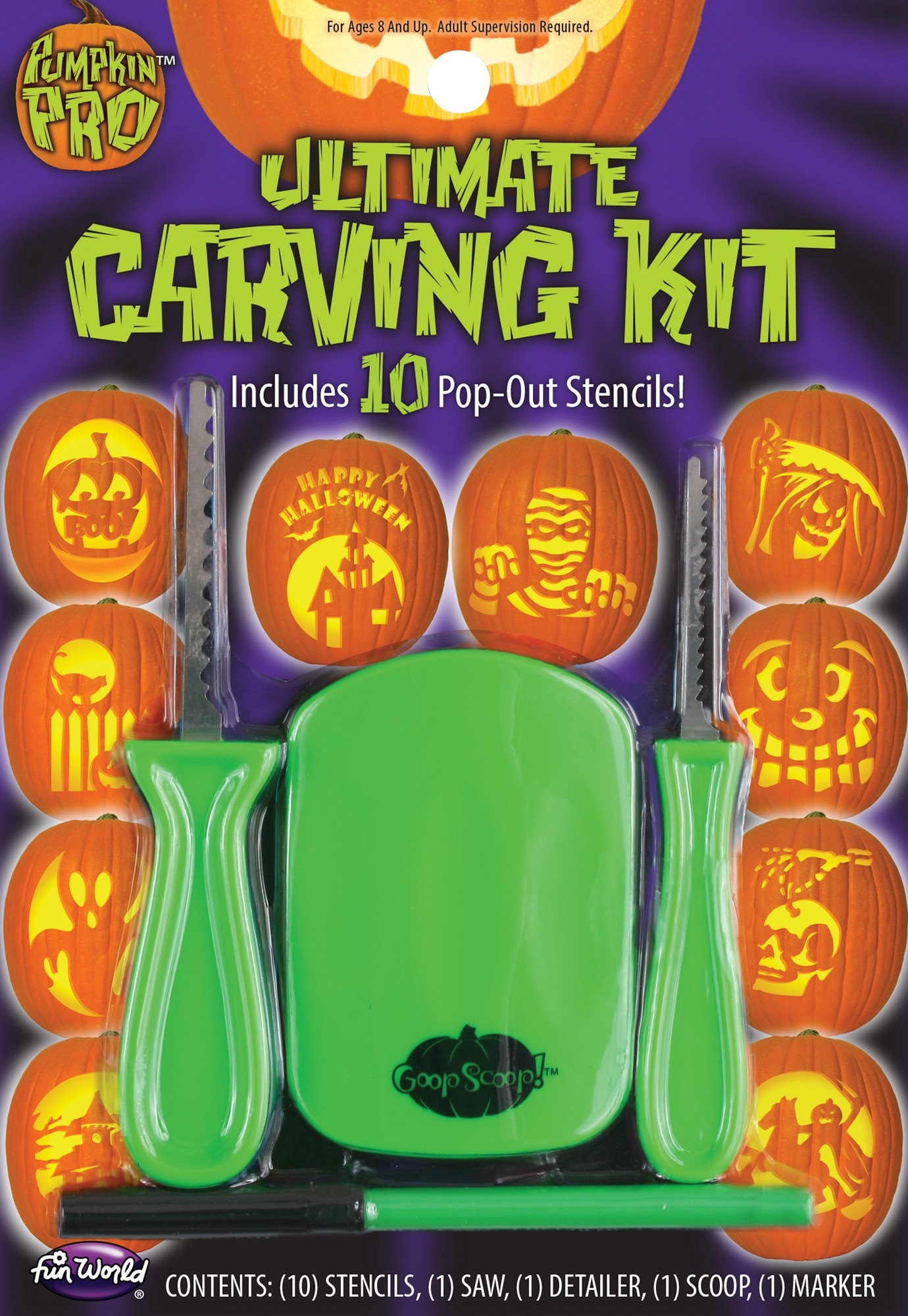 Fun World 14-Piece Carving Kit