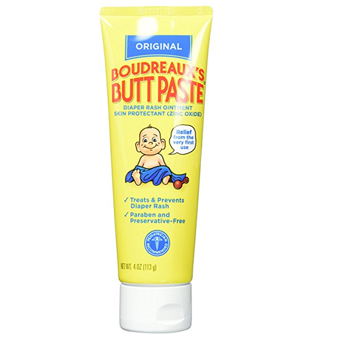 Boudreaux's Butt Paste and Diaper Rash Ointment Tube – Available in Different Quantities