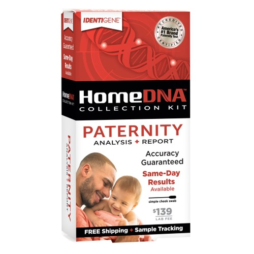 IDENTIGENE At Home Paternity Test Kit