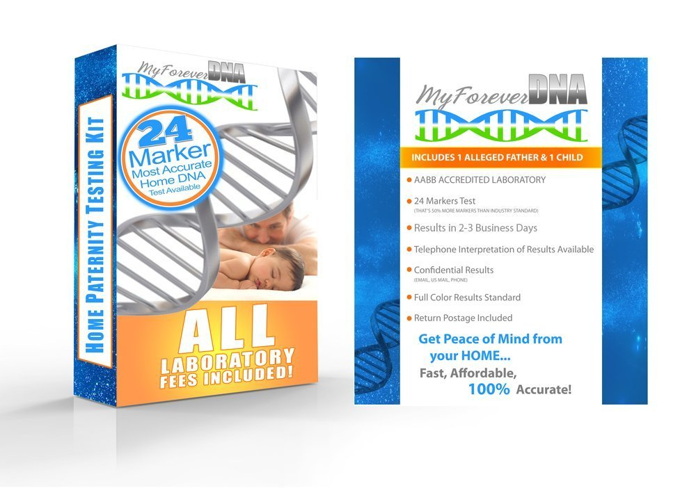 My Forever DNA Home Paternity Test Kit