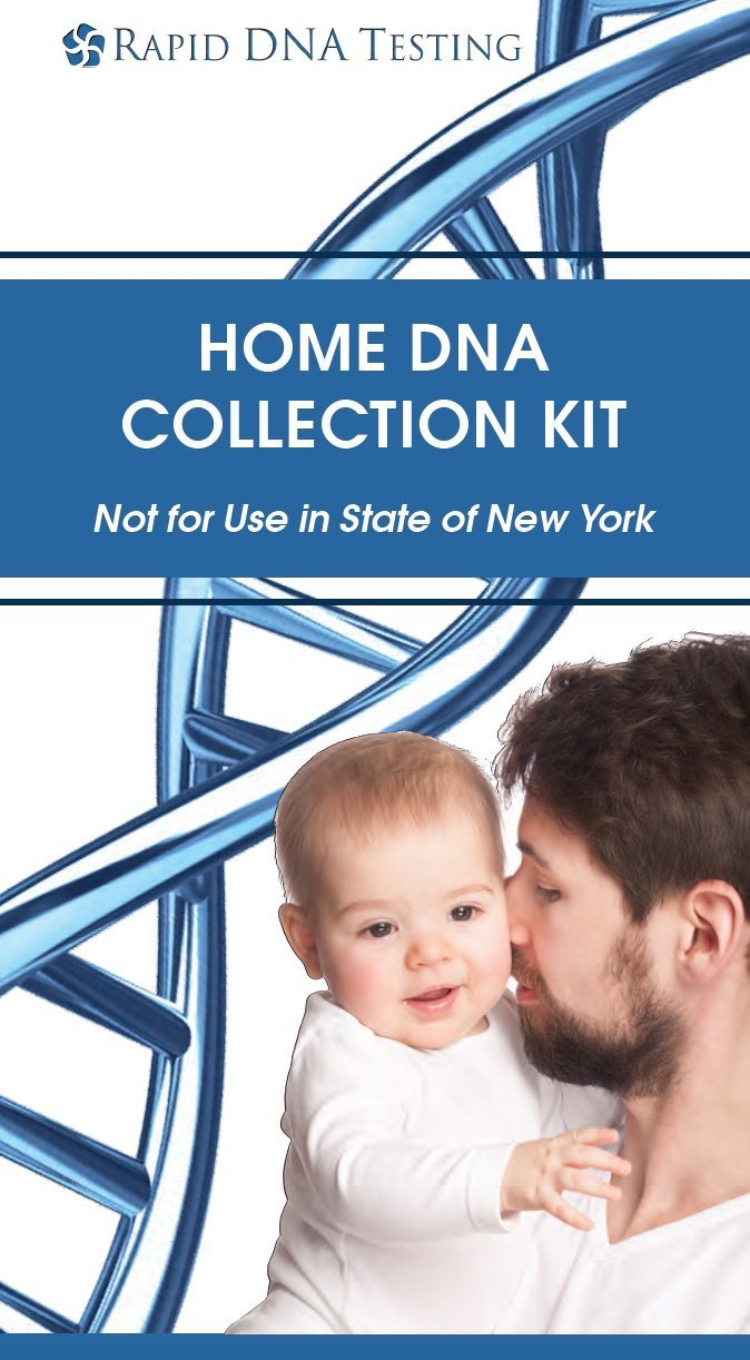 Rapid DNA 21 Marker DNA Paternity Test Kit