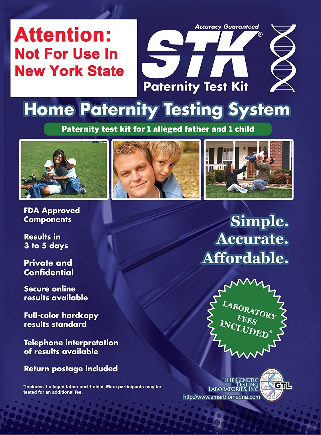 STK Home Paternity Testing System
