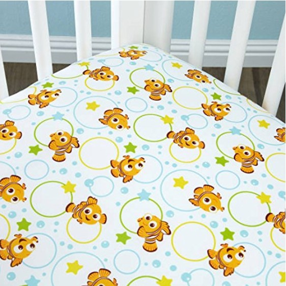 Disney Finding Nemo Crib Sheet