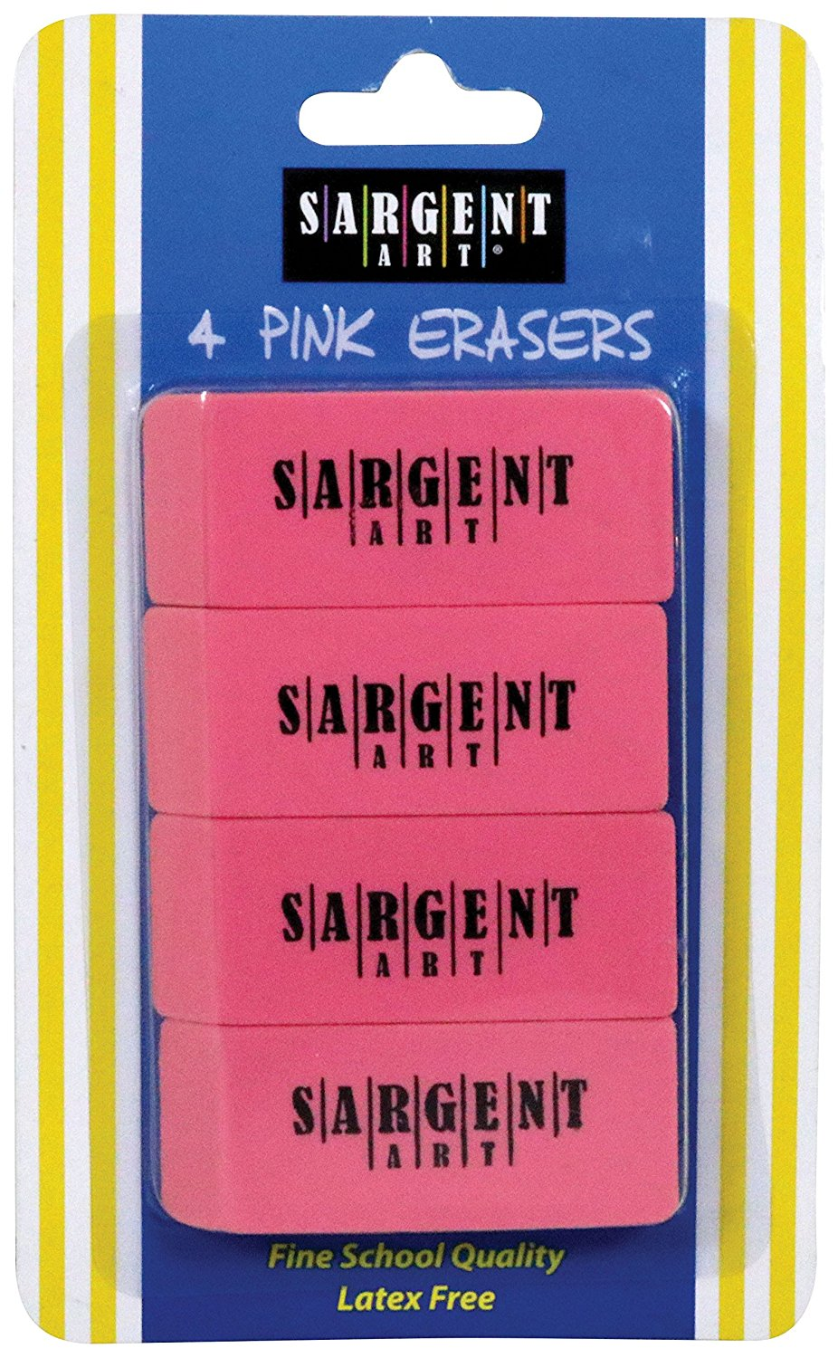 Sargent Art 4 Count Eraser Pack