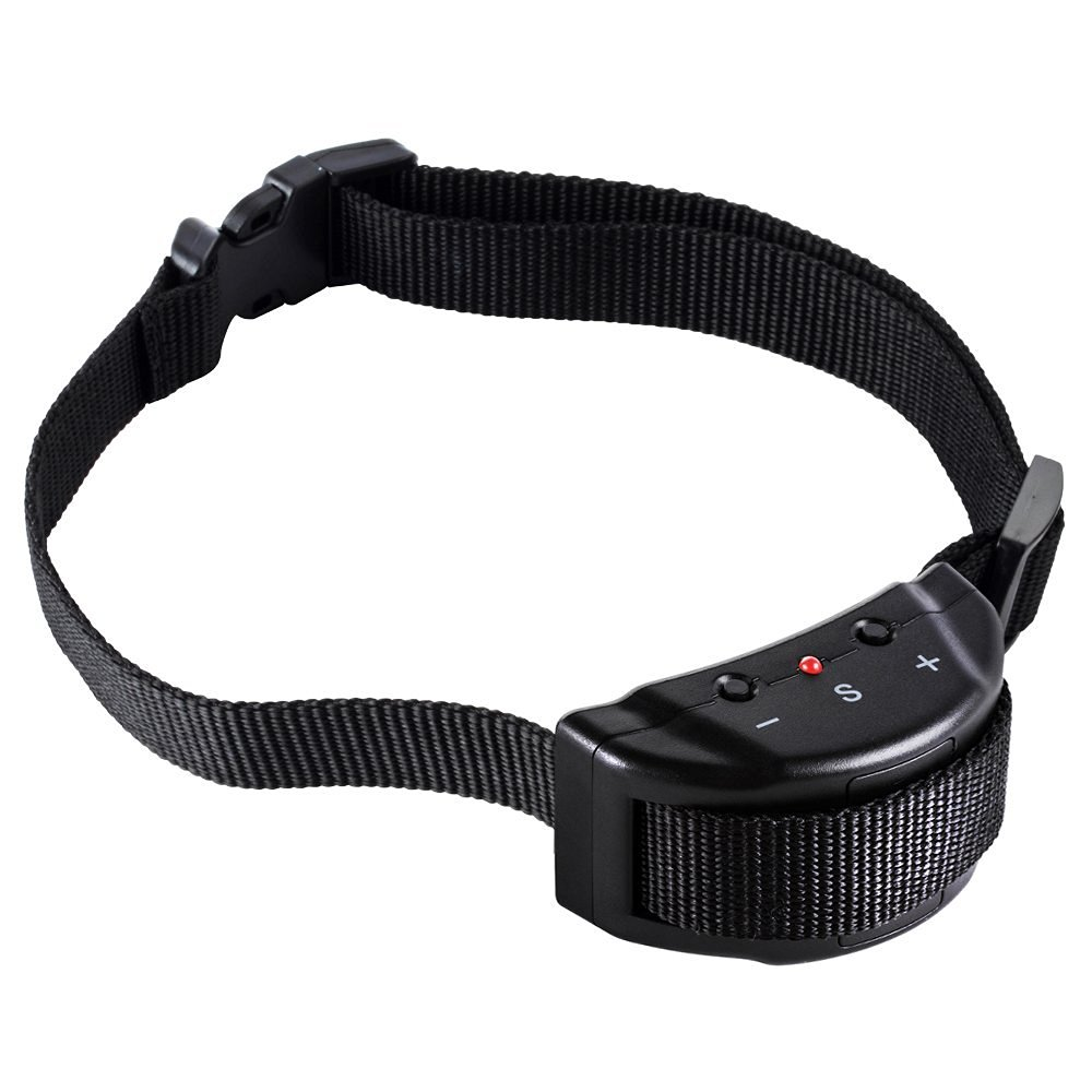 Zacro DC265 No Bark Electric Dog Collar with 7-Level Adjustable Sensitivity Control for 15-120 Pounds Dogs