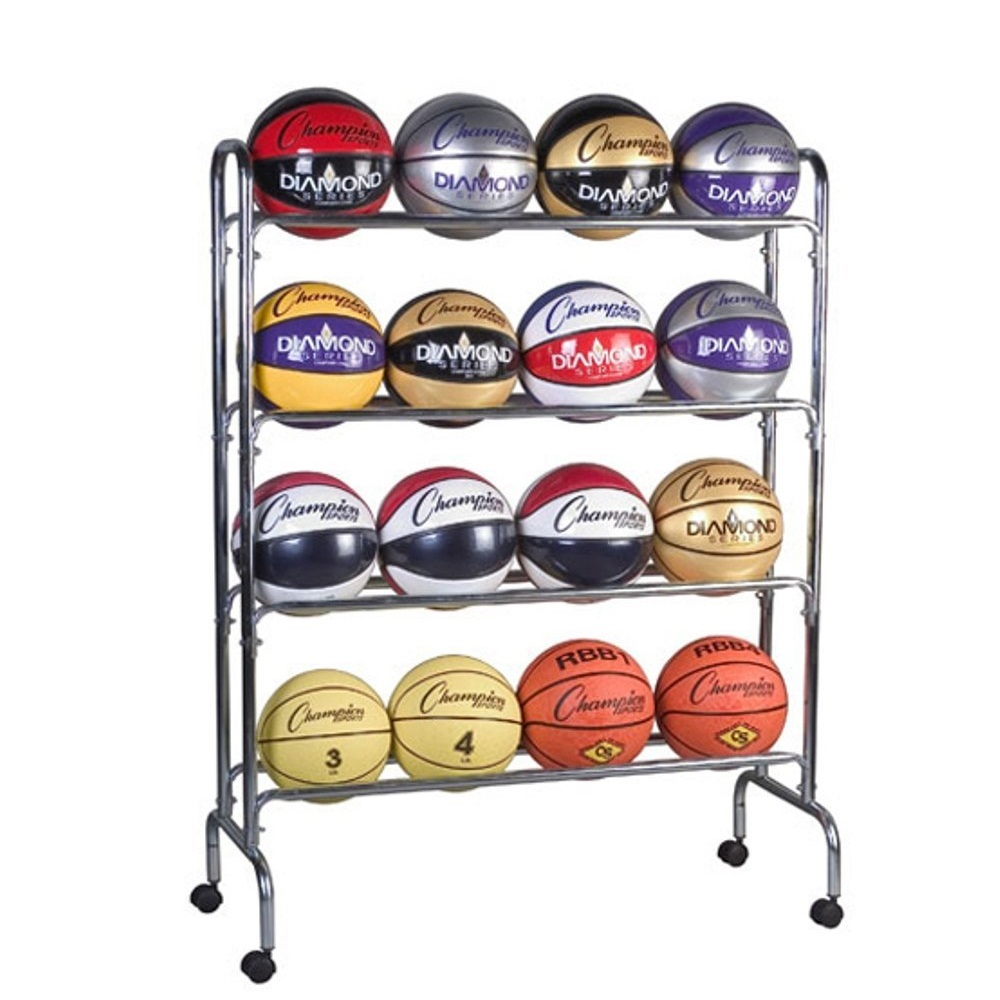 Champion Sports 16 Ball Cart