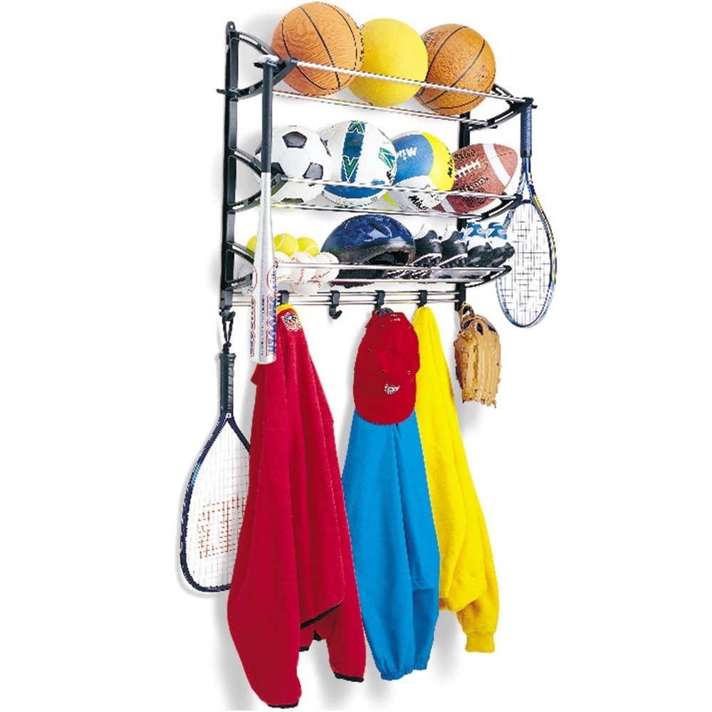Lynk Sports Rack with Adjustable Hooks