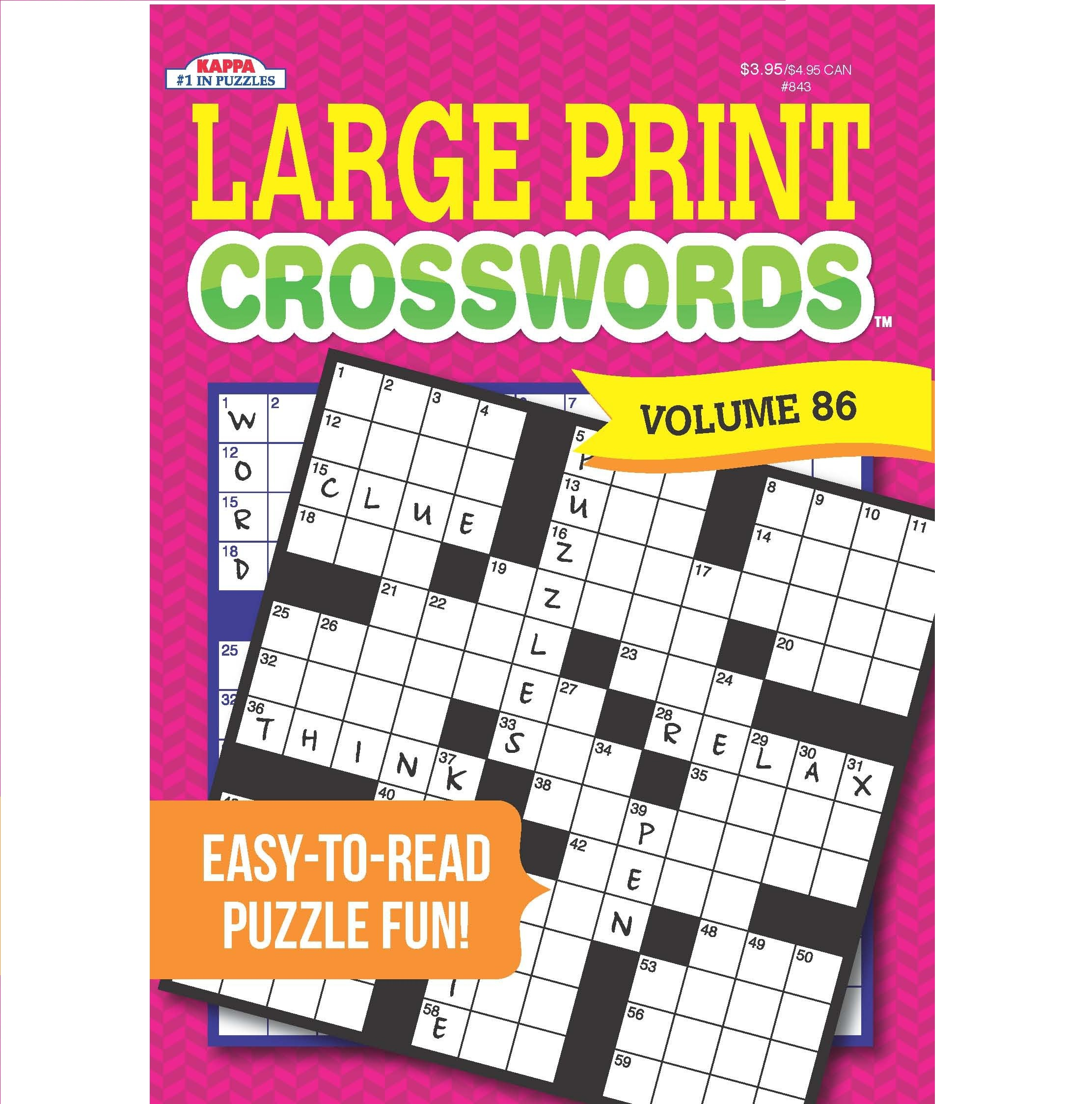 Kappa Books Publishers Crosswords Puzzle Book