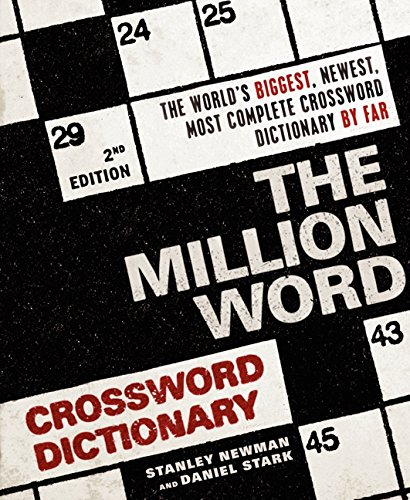 Stanley Newman The Million Word Crossword Dictionary