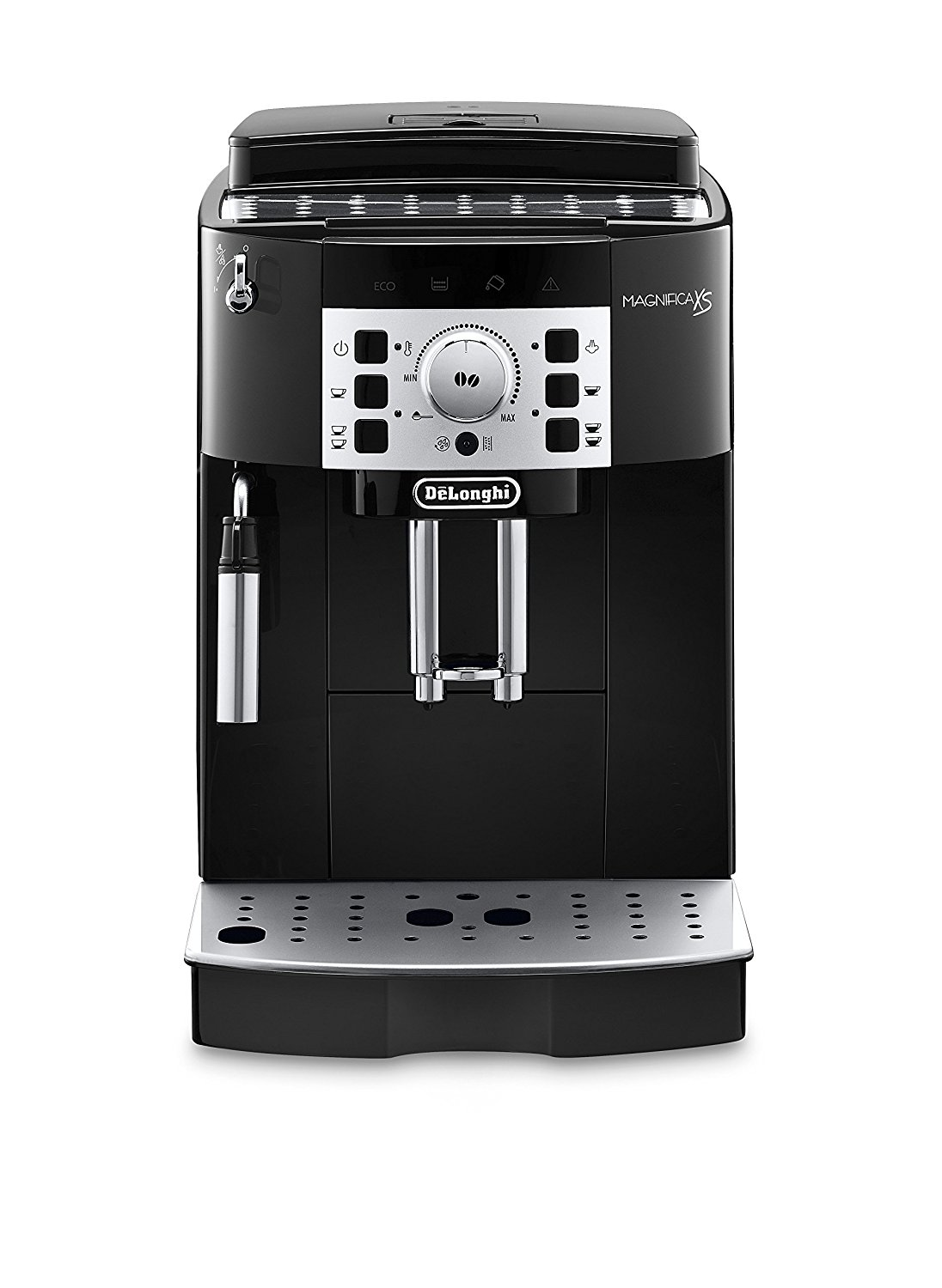 Delonghi Super Automatic Espresso, Latte and Cappuccino Machine with 60 Ounce Water Tank - 2 Colors Available