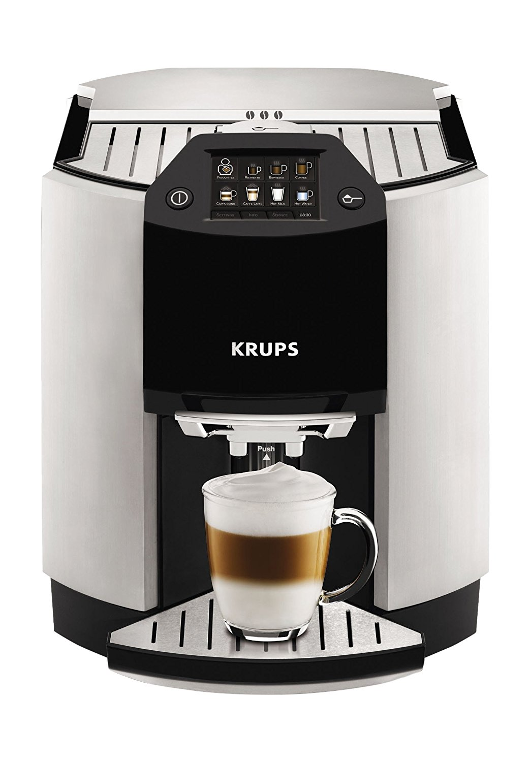 KRUPS One-Touch Cappuccino Machine