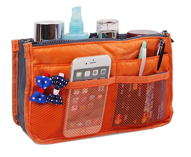 Jet-Bond Multi-Pocket Handbag Organizer