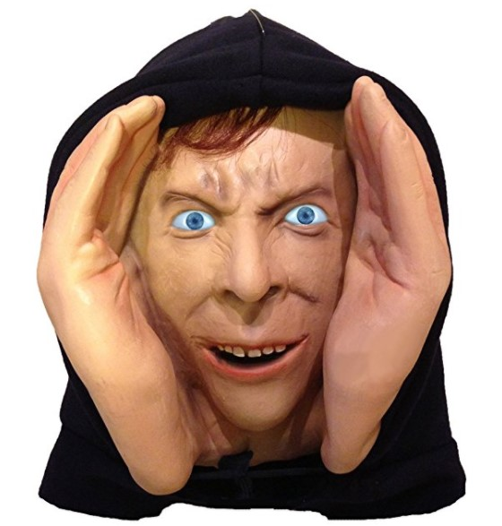 Scary Peeper Peeping Tom Halloween Window Prop