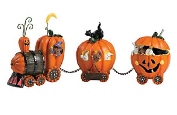 Fun Express Pumpkin Halloween Train