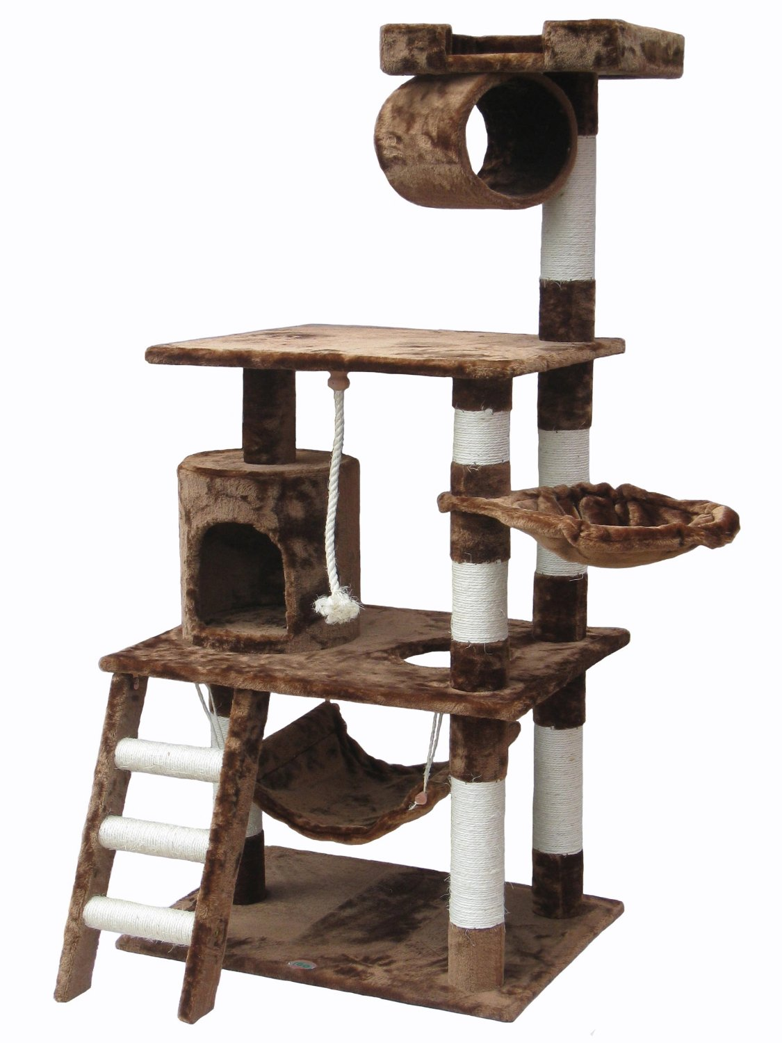 Go Pet Club's F67 Cat Climbing Tree with Hammock