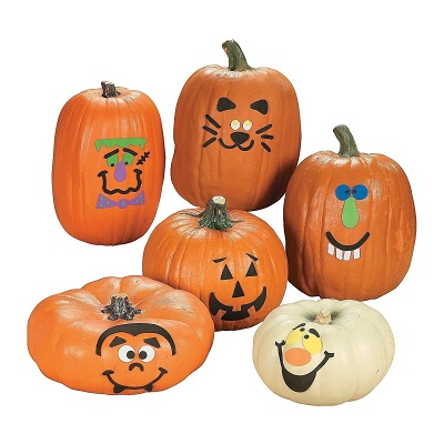 Fun Express Foam Pumpkin Craft Kit