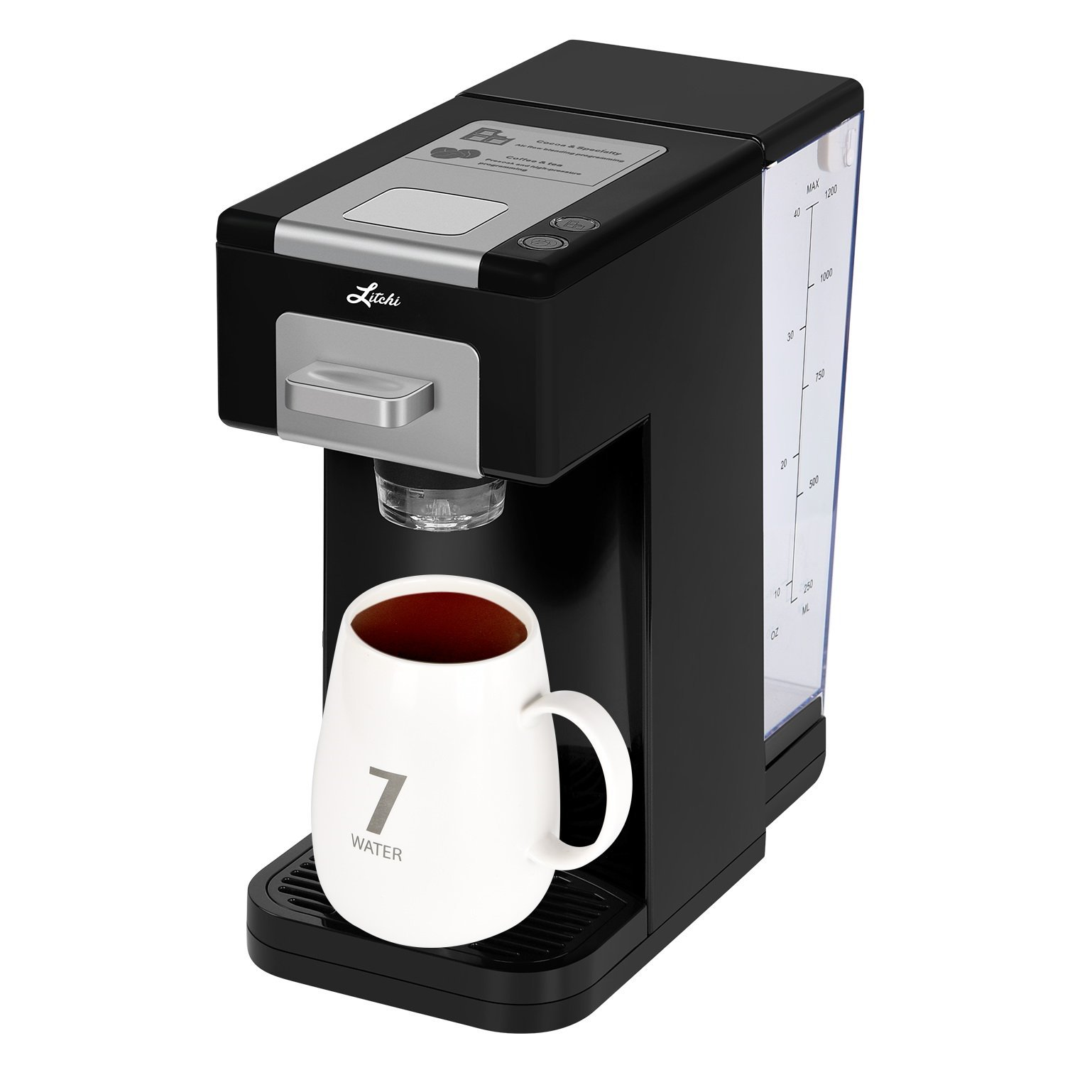 Litchi Single Serve K-Cup Coffee Maker