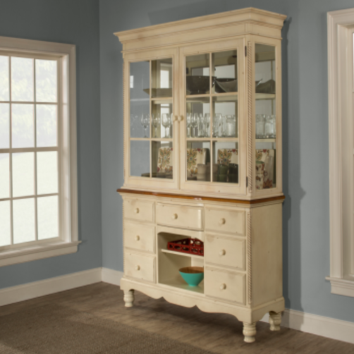 Hillsdale Furniture Wilshire Hutch Cabinet