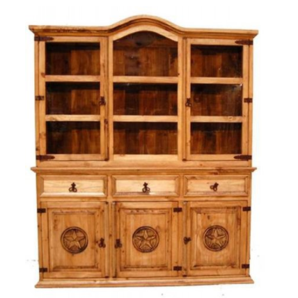 Million Dollar Rustic 2-Piece Star China Cabinet