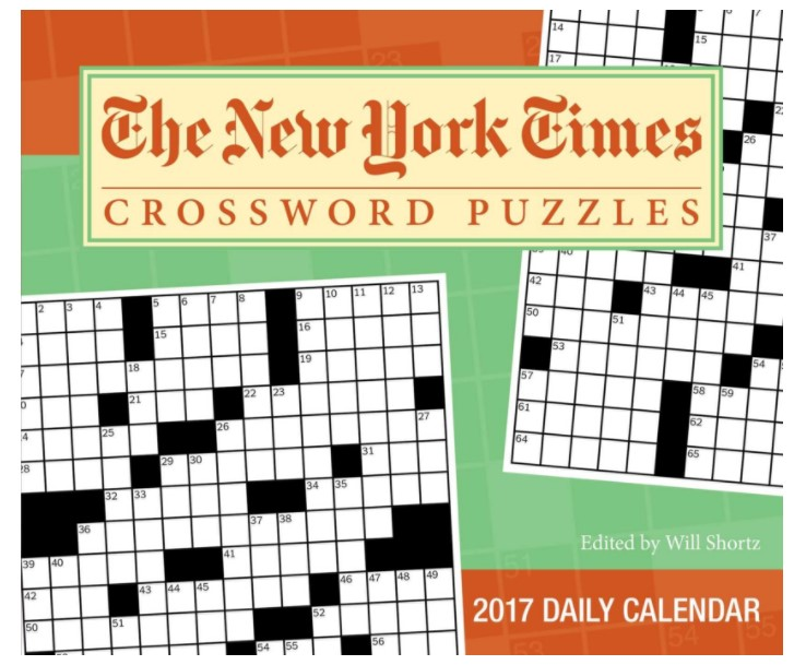 The New York Times Crosswords 2017 Day-to-Day Calendar
