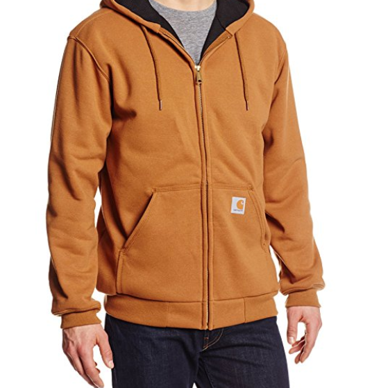 Carrhart Rain Defender Zip-front Sweatshirt