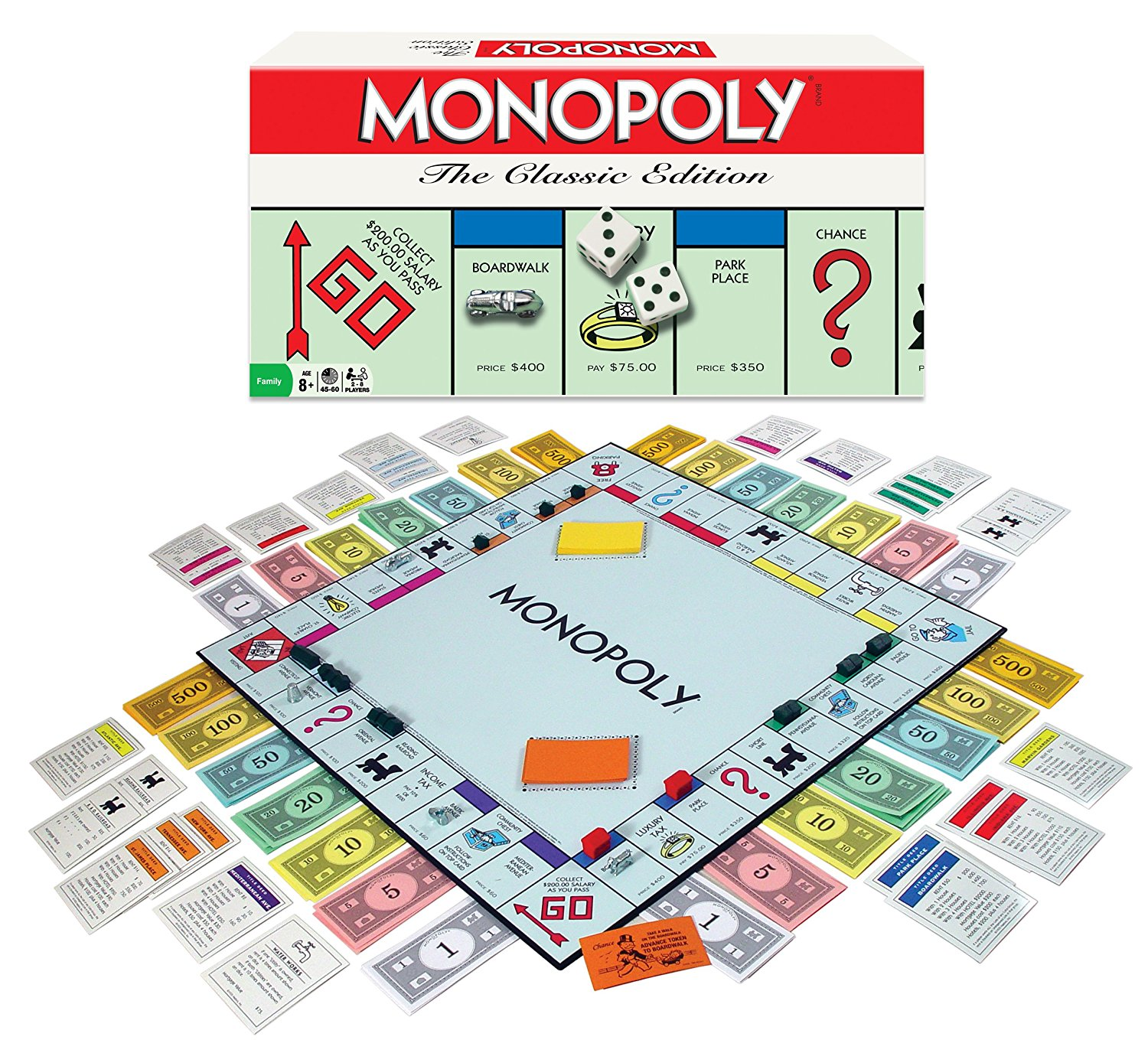 Winning Moves Games Monopoly Classic Edition