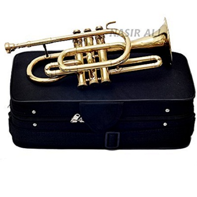 Nasir Ali Brass Bb Cornet with Case