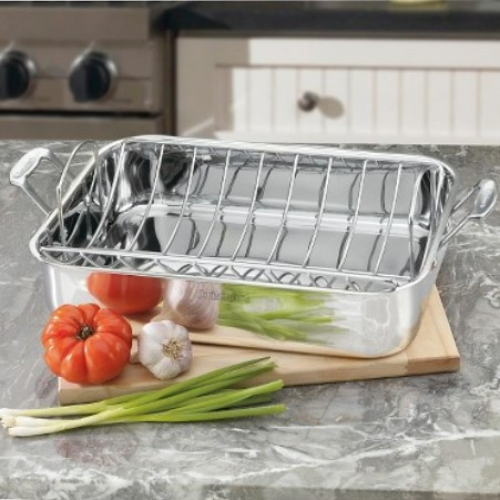 "Cuisinart Chef's Classic 16"" Roaster Pan"