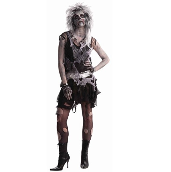 Forum Novelties Zombie Punk Woman Costume