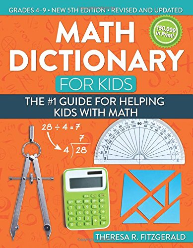 Theresa Fitzgerald Kids Math Dictionary